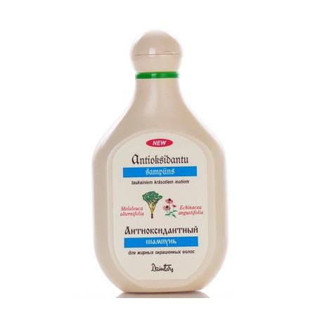 Шампунь для жирных, окрашенных и повреждённых волос, Антиоксидантный