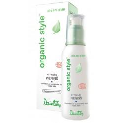 Очищающее молочко для нормальной и комбинированной кожи лица Organic Style