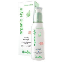 Очищающее молочко для нормальной и комбинированной кожи лица Organic Style clean skin (Dzintars)