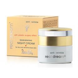 Восстанавливающий ночной крем от морщин для сухой и чувствительной кожи лица Real Dream Anti-Wrinkle