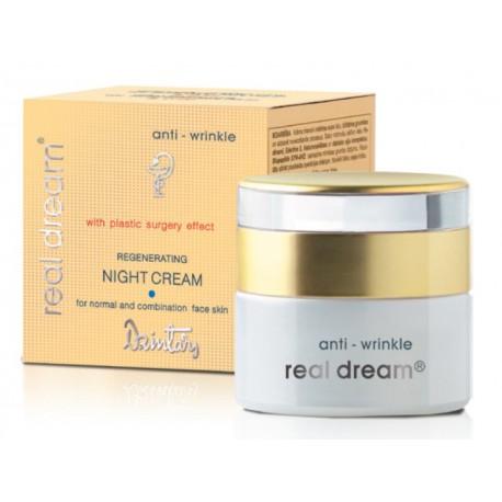Восстанавливающий ночной крем от морщин для нормальной и комбинир. кожи лица Real Dream Anti-Wrinkle