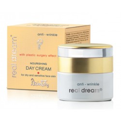 Питательный дневной крем от морщин для сухой и чувствительной кожи лица Real Dream Anti-Wrinkle