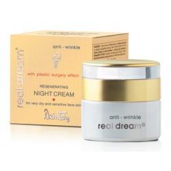 Регенерирующий ночной крем от морщин для очень сухой и чувствительной кожи лица Real Dream Anti-Wrinkle