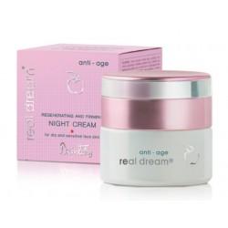 Восстанавливающий и укрепляющий кожу ночной крем для сухой и чувствит. кожи лица