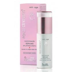 Укрепляющая сыворотка с эффектом лифтинга для сухой и чувствительной кожи лица Real Dream Anti-Age (Dzintars)