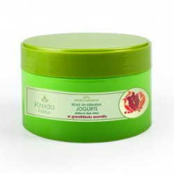 Kosmetický jogurt na obličej a tělo s vůní granátového jablka pro všechny typy pleti KREDO NATUR