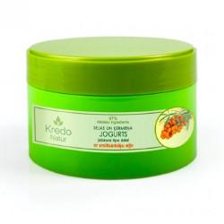 Йогурт для лица и тела с облепиховым маслом для любого типа кожи KREDO NATUR