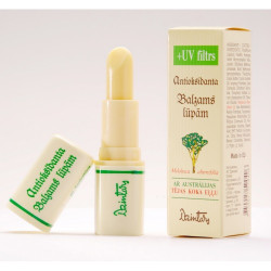 Balzám na rty s UV-filtrem, Antioxidační série