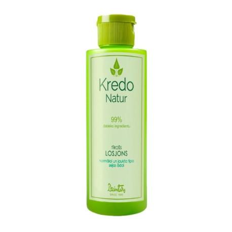 Очищающий лосьон для нормальной и комбинированной кожи лица KREDO NATUR