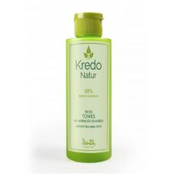 Увлажняющий тоник для любого типа кожи лица Kredo natur