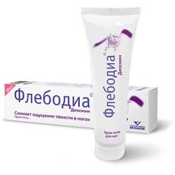 Krémový gel na nohy PHLEBODIA, 50 ml (Dzintars)