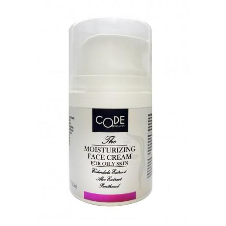 Увлажняющий крем CODE OF BEAUTY для жирной кожи лица