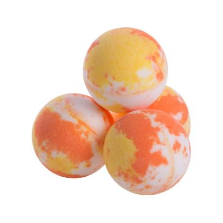 Šumivá koupelová bomba Peach (Broskev) od Ceano Cosmetics